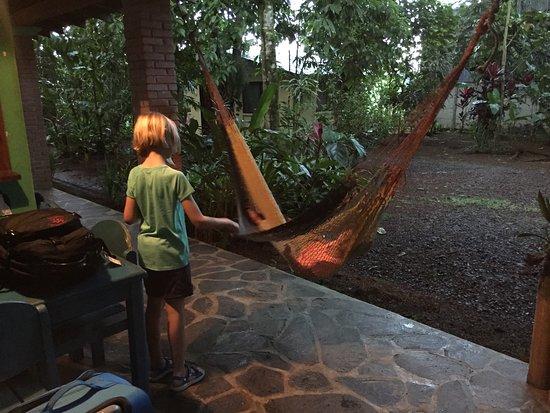 Puerto Viejo de Sarapiqui, คอสตาริกา: hammocks on our porch area