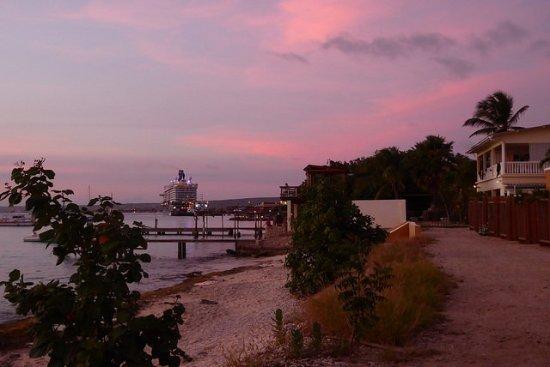 Blachi Koko Apartments Bonaire: Beach 1 min walk from property
