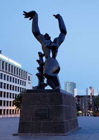 Monument to Destroyed City, Rotterdam, Holland