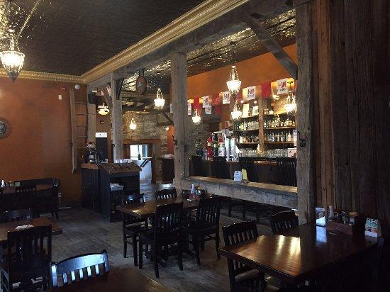 Prescott, Καναδάς: salle diner