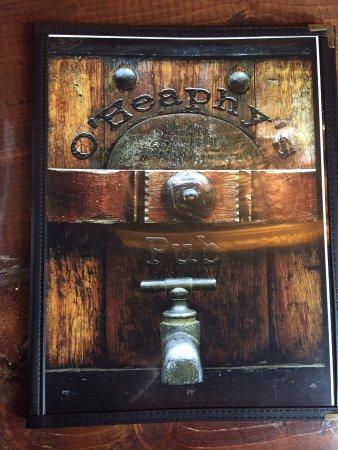 Prescott, Kanada: couverture du menu