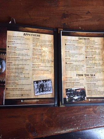 Prescott, Kanada: menue et choix