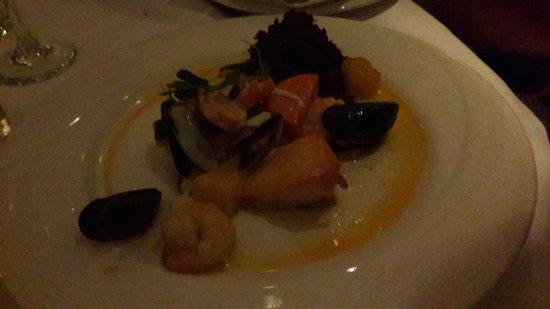 Athlone, Irlanda: seafood plate