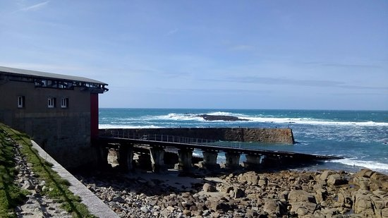 Sennen Cove, UK: The Lifeboat Station at Sennen