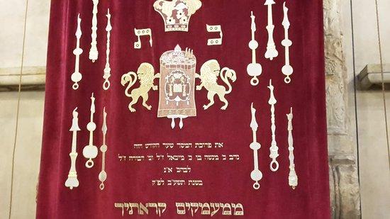 Old-New Synagogue (Staronova synagoga): Teil Altar