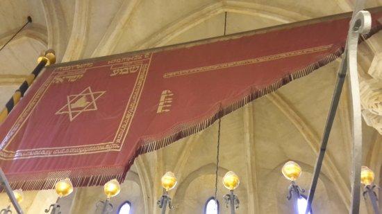 Old-New Synagogue (Staronova synagoga): Flagge