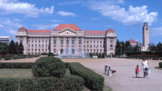Main Building of University of Debrecen