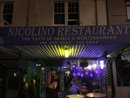 Devonport, Nieuw-Zeeland: Great night out. Lovely Greek atmosphere. Food great! Lamb shanks quite spicy. Calimari lovely.