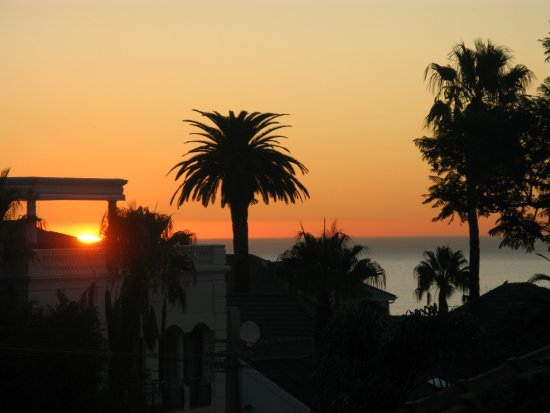 Fresnaye, แอฟริกาใต้: Sundowner from our own balcony