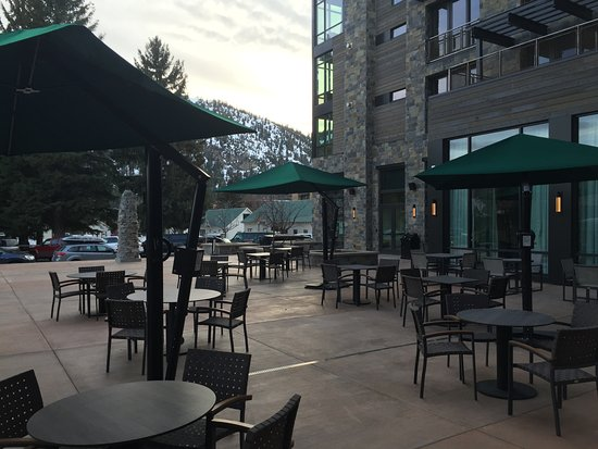 Ketchum, ID: Courtyard next to Pool