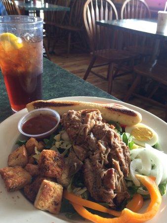 Fletcher, Carolina del Norte: Salad & Bar-b-Que