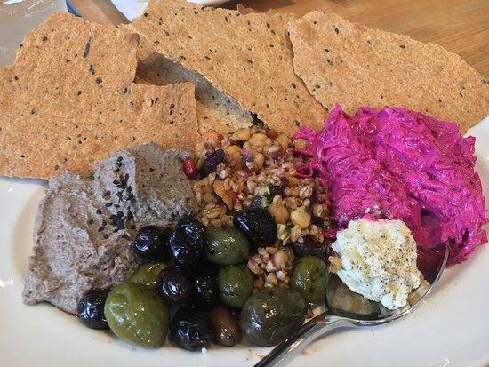 Savor Healdsburg Food Tours : First taste with Savor Healdsburg began at Shed.