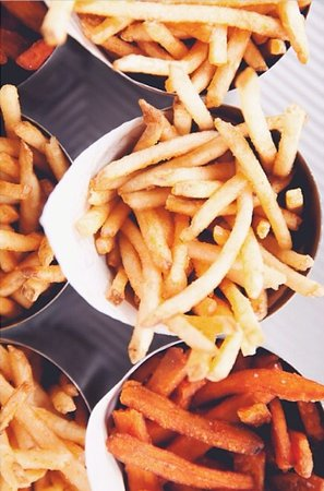The Counter: Shoestring Fries or Sweet Potato?
