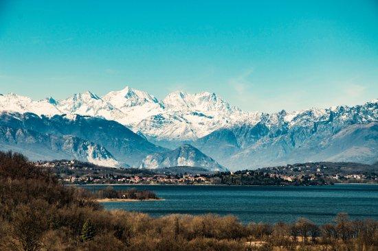 Foto dal Belvedere di Azzate