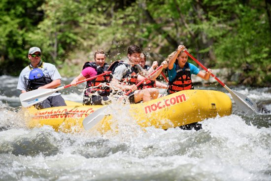Nantahala Outdoor Center : Raft the Nantahala River with NOC's highly experienced guides.