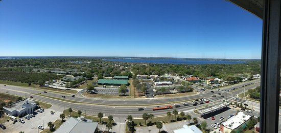 Florida Citrus Tower: A panoramic shot