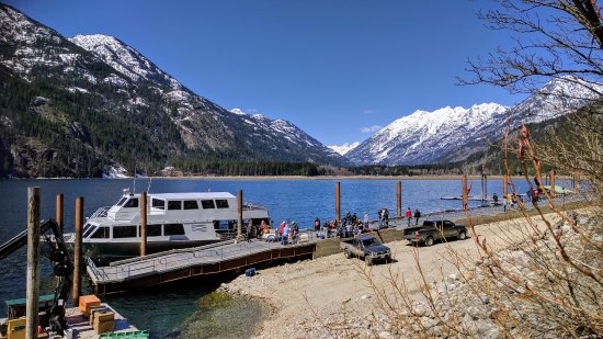 Stehekin, WA: How you reach the lodge!