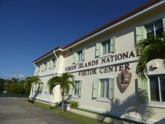 Cruz Bay Visitor Center : Exterior