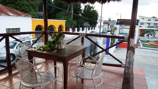 Hotel Esquivel: Terracita