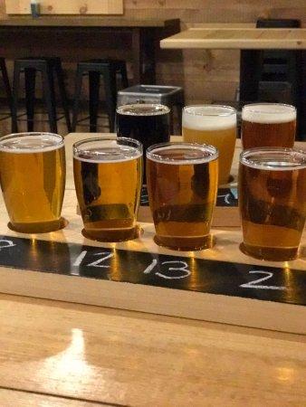Shipyard Brewing Company: A beer flight at Shipyard