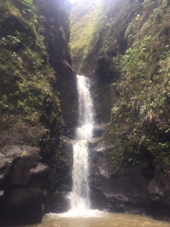 Lawai, Hawaje: The end point of our hike -- INCREDIBLE