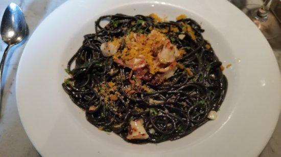 Bistro Aix: Squid Ink Spaghetti