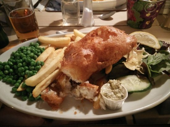 Winsor, UK: fish and chips