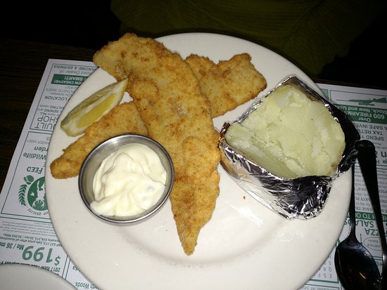Rhinelander, WI: Al Gen Dinner Club - Oneida County Seat - Baby Walleye - $1000 Beer