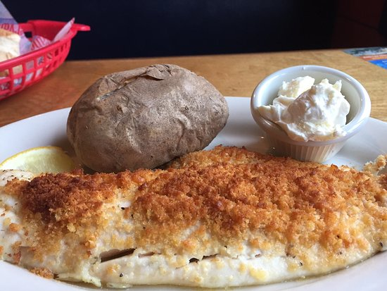 Chichester, NH: Baked Haddock
