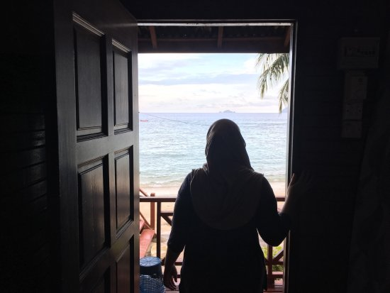 Senja Bay Resort: The view from our room