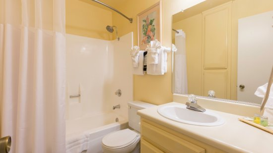 Bathroom of Two Bedroom Condo Unit at the Indian Palms Vacation Club