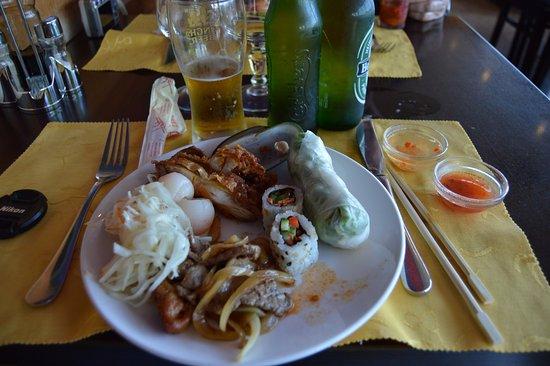 Saint-Vigor-le-Grand, Francia: Plate Number Two & a Heineken