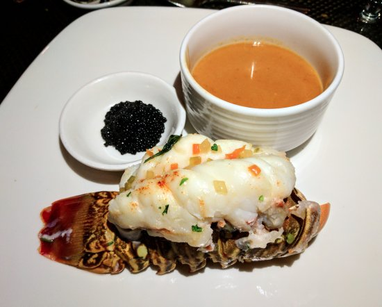 Sterling Brunch: Lobster bisque is a must try. Add a bit of caviar on the lobster tail!