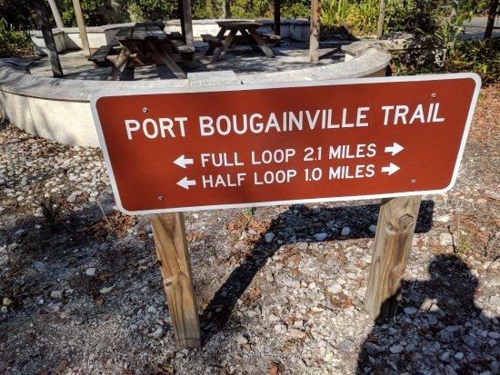 Key Largo Hammocks State Botanical Site : Trail Board