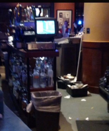 Redmond, WA: view from the bar, ever server walked over this. Its' OK though