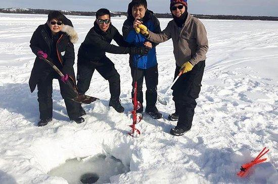 Great Slave Lake Ice Fishing Tours