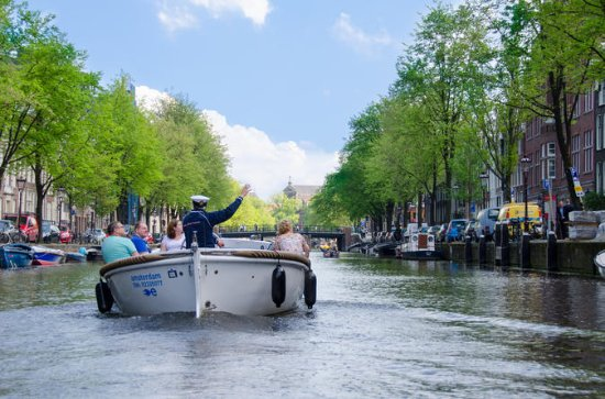 Open Boat Canal Cruise in Amsterdam