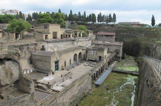 Halvdagsvisning af Herculaneum fra...