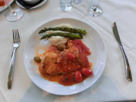 Strega Waterfront: Seafood Puttanesca At Strega - Boston Waterfront