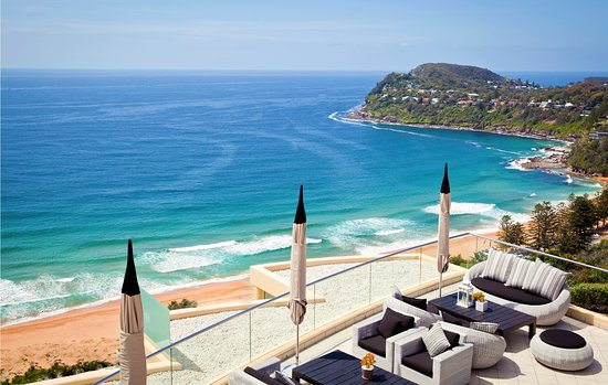 Whale Beach, Australia: View from Jonah's