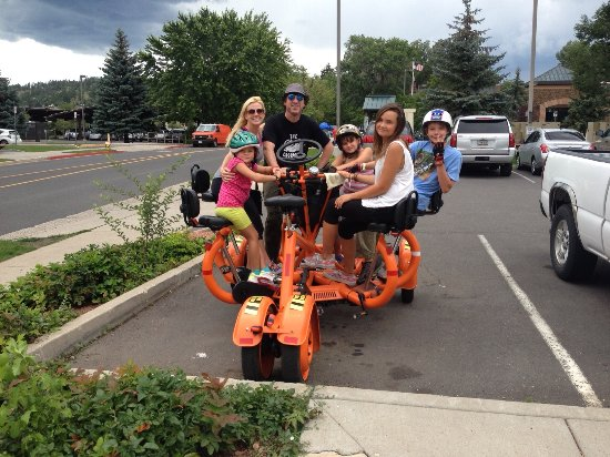 Alpine Pedaler: Family time on the CRAB Bike!