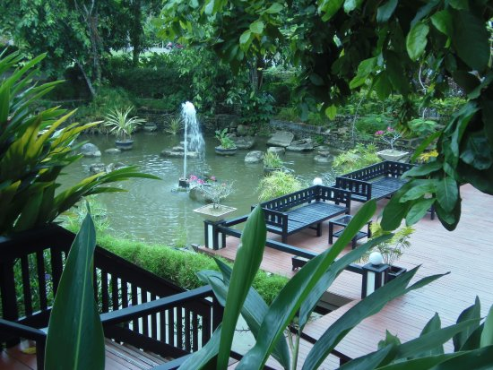 Naviti Resort: Just off reception at Naviti