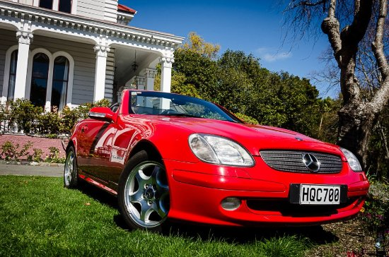 Rent A Classic: Our Mercedes SLK 2 Seater Convertible Is A Serious Sports  Car