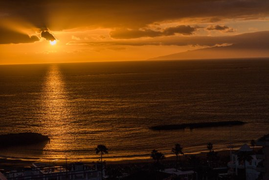 HOVIMA Costa Adeje : View from my room at sunset