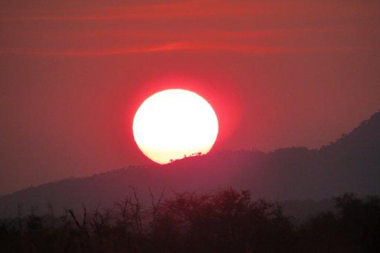 Zeerust, Afrique du Sud : African sunset