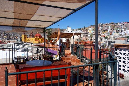 Casa De Pita: Dachterrasse