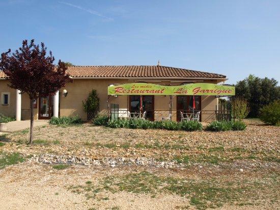 Serignan-du-Comtat, France: La terrasse