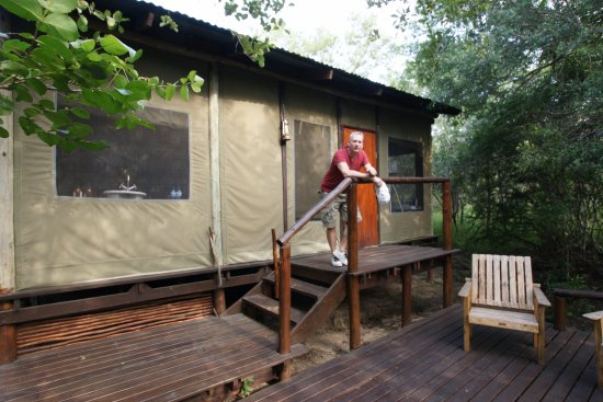 Ngama Tented Safari Lodge: tent 1