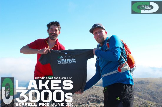 Kendal, UK: Success on the Lakes 3000s.