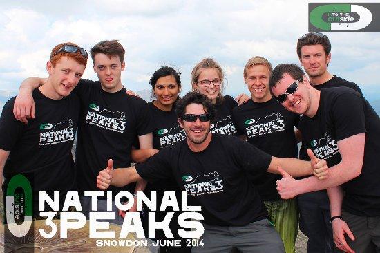 Kendal, UK: Success on the National 3 Peaks